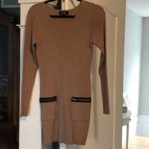 Bodycon long sweater